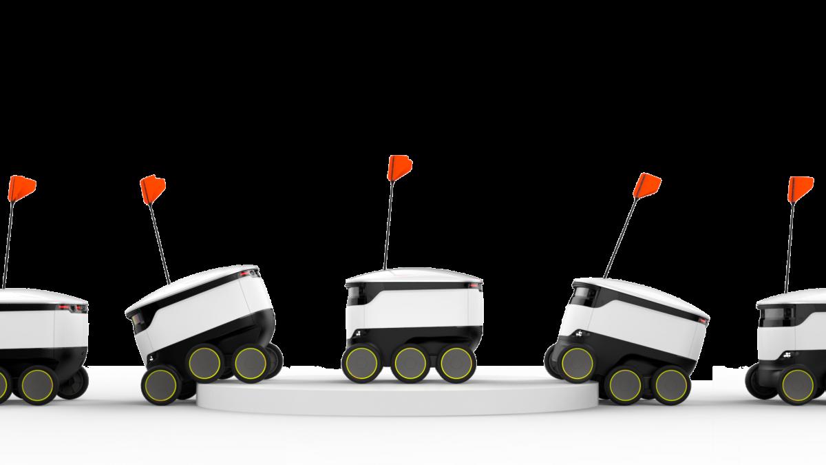 رونق کار پیکهای رباتی تحویل غذا در اروپا و آمریکا