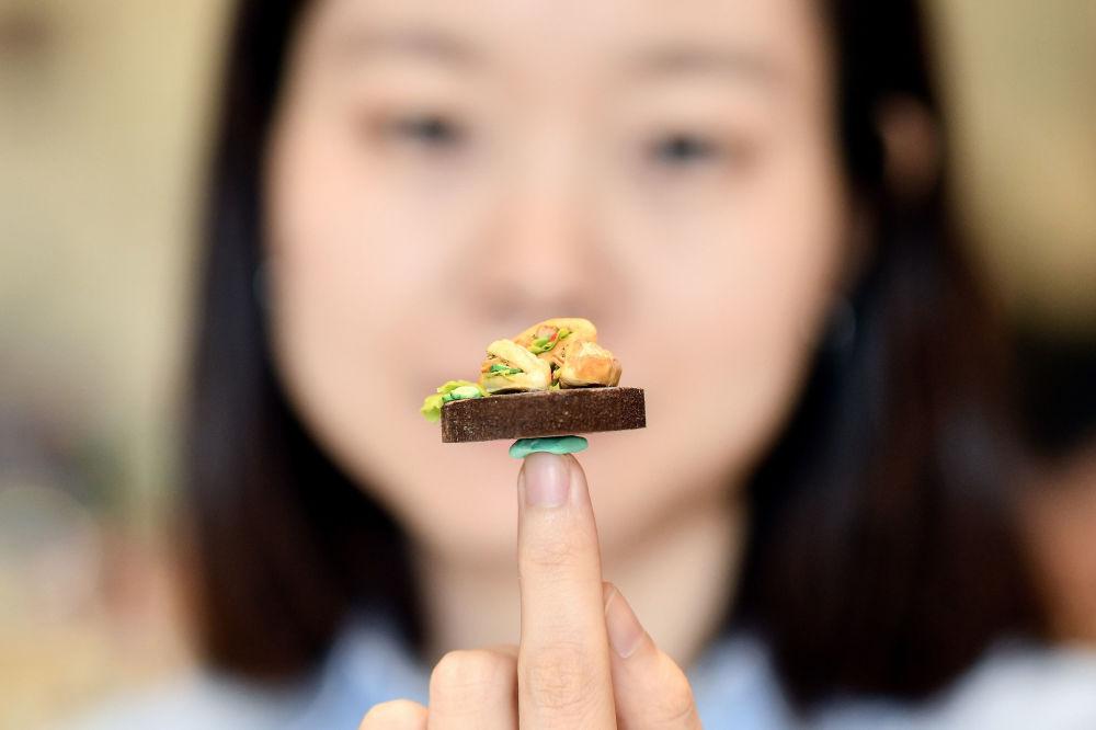 غذاهای جذاب مینیاتوری ساخته هنرمند ۲۸ ساله ویتنامی (عکس)